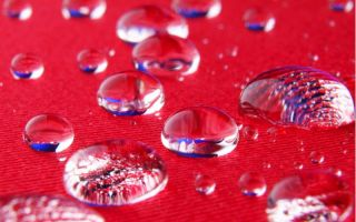 Hydrophobic effect of refinement Photo: Knud Dobberke for Fraunhofer ISC