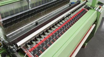 Müjet MBJL6 – Air-jet label weaving machine Photo: Jakob Müllr