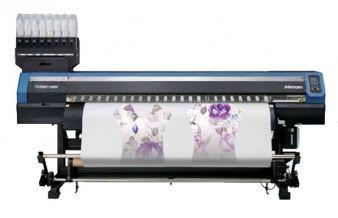 Multi-Plot stellt in Stuttgart unter anderem auch den Mimaki TS300P-1800 (Thermosublimations-Textildrucker) vor