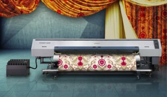 New Mimaki TS500P-3200 inkjet printer targets home furnishing textiles and indoor soft signage Photos: Mimaki