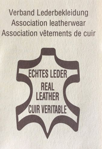 Use Of Genuine Leather Symbol Requires A Licence Textile Network
