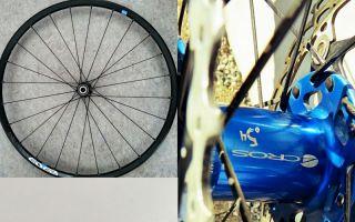 Figure 1: Wheels with steel spokes Photos: TU Chemnitz