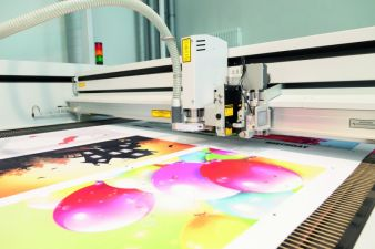 Laser cutting of textiles on the Eurolaser conveyor system