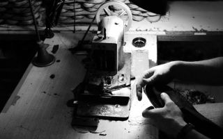 In Spain, the shoes are largely made by hand although the process has been perfected