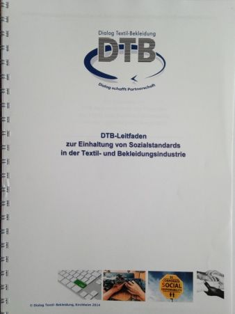 DTB's new guidelines for compliance with social standards in the textiles and apparel industry Photo: Hövelmann
