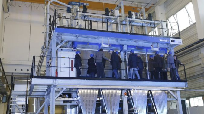 130 guests from all four corners of the globe were invited to the Open House event to view a live demonstration of the first compact machine for th...