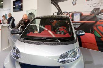 Mobiltech: Rinspeed Prototype, Schoeller AG