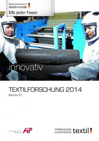 Die vom Forschungskuratorium Textil (FKT) jetzt für 2014 herausgegebene Übersicht enthält 293 Förderthemen – von A wie Abluftreinigung bis Z...