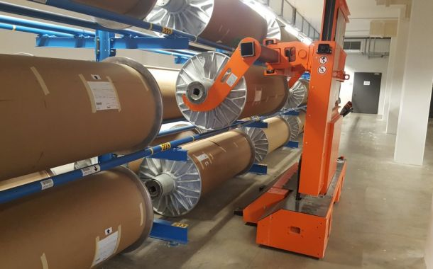Getzner Textil AG: Rapid access to fabric rolls