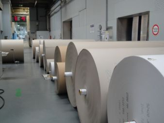 The corrugated board production capacity is 135 million square metres/year Photos: Gebr. Kufferath