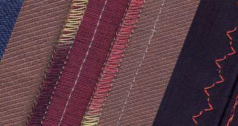Decorative seams with Madeira Photos: Madeira
