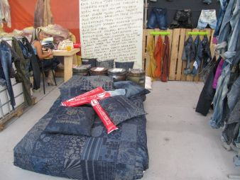 Sustainability remains a primary theme in the denim industry. Pictured: Denim Lovers/Colombiatex Photo: textile network