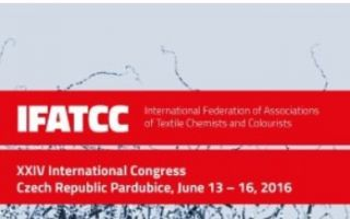 Flyer 24th IFATCC World Congress, June 13-16 2016, PARDUBICE, Czech Republic (screenshot)