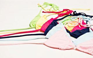 Bikini tops Photo: Anja Wurm