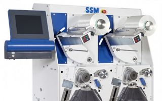SSM DURO-TW precision package winder for technical yarns (Photo: SSM)