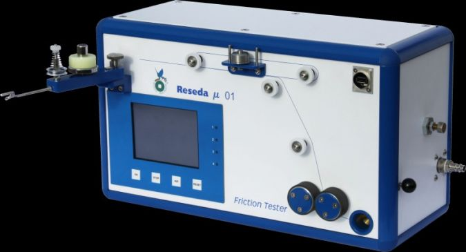 Measurable and practical success: on the newly developed friction tester, the friction levels are measured electronically and evaluated without a s...