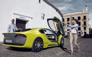 """The car of the future: The """"old world"""" of the traditional automaker meets the """"new world"""" of software, algorithms, bits and bytes (Photos:..."""