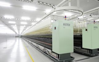 Structural measures for production at Winterthur site. Ring spinning machine (Photo:Rieter)