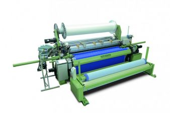 Dornier rapier weaving machine P2, TGP 6/S G type, with a nominal width of 320 cm (Article: High density filter fabric)