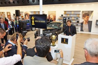 16.09.2015: IAA: Autoneum renews sponsorship of the World Car Awards