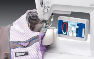 Dürkopp Adler will present the latest control technology – DAC Comfort – for precise and repeatable sewing operations (Photo: Dürkopp Adler)