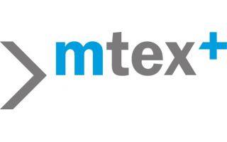 Logo mtex+ (Photo: Messe Chemnitz)