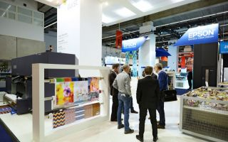 The suppliers of textile printing solutions impressed the visitors with their highlights at this year's Heimtextil 2015 in Frankfurt Photos: Heimte...