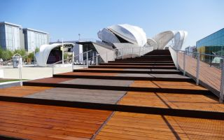 The German Pavilion at the Expo 2015 in Milan Photos: Messe Frankfurt