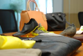 Polyurethane-coated textiles are widely used for imitation leather Photo: SAK