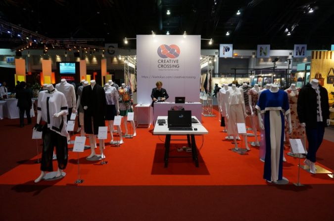 Creative Crossing - the project encourages trage of Fashion ans Textile products between Japan and Thailand