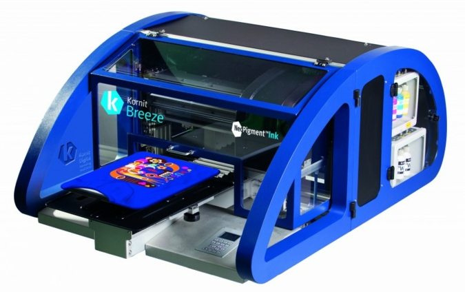 TV Tecstyle Visions: ESC-Decotec is strengthening its portfolio with direct-to-textile printing sytsems