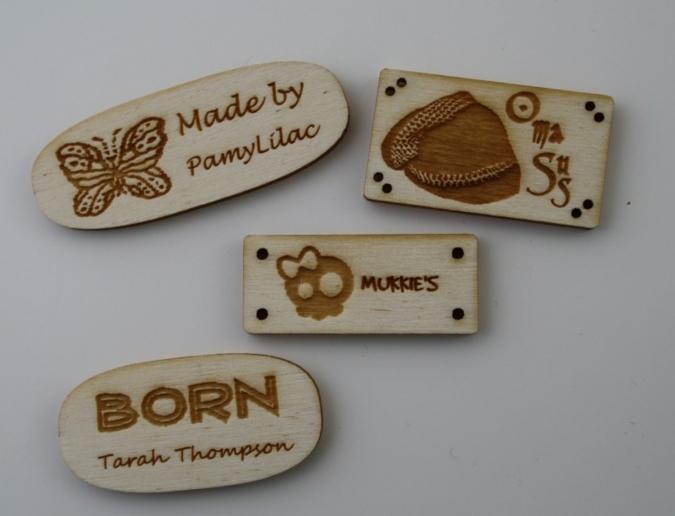 Die neuen Holz-Etiketten Corinera– ganz neu auch aus Pappelholz