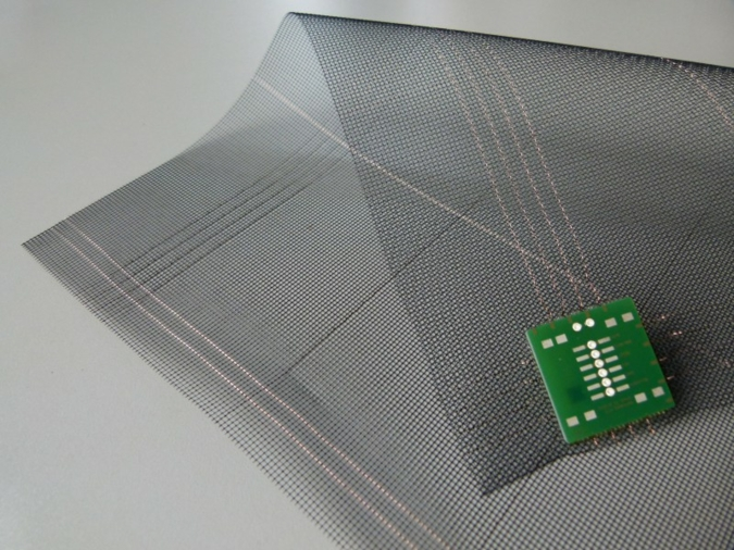 Ettlin will also be presenting smart textiles with integrated microelectronics at joint stand B 17 with Forster Rohner Textile Innovations in hall 6.1
