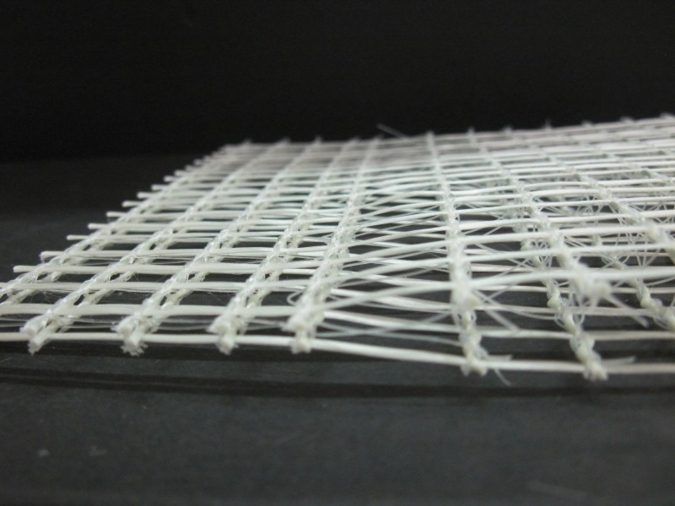 The 3D high performance grids made of AR glass and carbon are tapered on the ends allowing the grids to be joined by overlapping them which elimina...