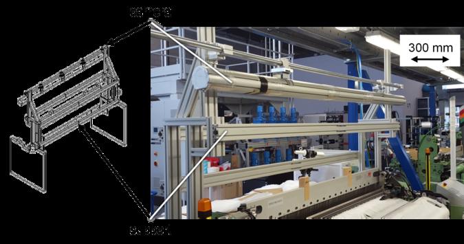 Figure 7: Machine vision system prototype at ITA