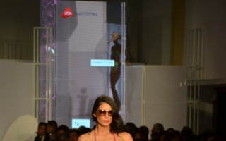 Invista Lycra fashion show Photo: Hannah Werner