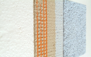 Litex SX product series used for external insulation finishing systems Photo: Synthomer