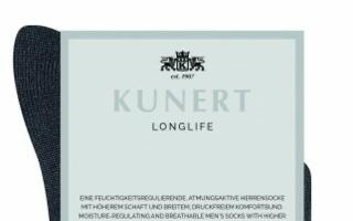 Kunert Longlife socks Photo: Kunert