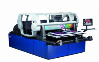 The Avalanche series from Kornit is designed for industrial, high-volume production with a printing area of 600mm x 900mm Photo: Kornit