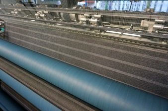 Large-scale incorporation of metallised threads on a Raschel machine for the production of non-woven composites (preliminary stage for the applicat...