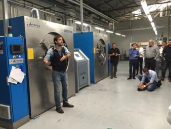 Giovanni Bruno, Head of Development bei RGT Italia S.r.l. gab einen Einblick in das hohe Leistungsniveau der Kreativschmiede RGT Italia