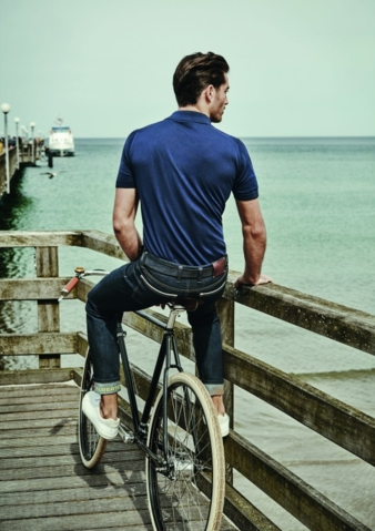 'Bike' comes as jeans or jersey pants in five different fabrics and will be available in selected cycle stores from spring 2016 Photo: Alberto