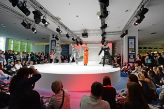 One of the highlights: the Apparel Fashion ShowTechtextil and Texprocess 2015 Photos: Messe Frankfurt