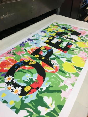 New textile print studio in London | textile network