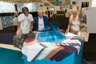 Messe Frankfurt provides designers and buyers around the world with plenty of new ideas as they prepare for the new season. Pictured: Texworld, Paris