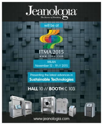 Jeanologia presenting the latest advances in sustainable technologies in hall 10, booth C 103 (Photo: jeanologia)