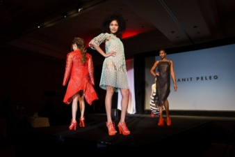 Israel-based Peleg created a 3D-printed, five-piece fashion collection as part of her graduate portfolio for her fashion design degree at Shenkar C...