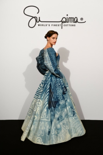 The haute-couture gowns from US cotton by Kate Mc Kenna