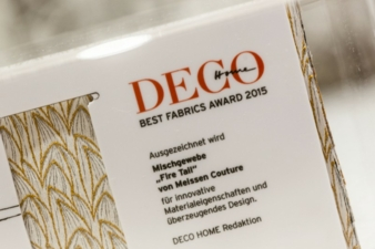 Best Fabrics Award 2015 for Fire Tail