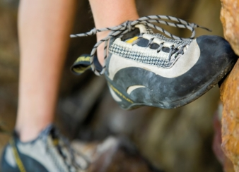 High-quality footwear material for the outdoor and hiking segment: The elastomer-based material CeraPrene from ContiTech offers optimum wear comfor...